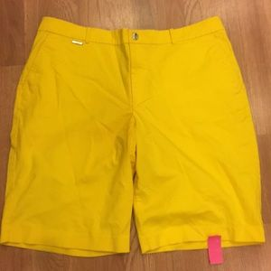 Ralph Lauren Active Yellow Women's Shorts
